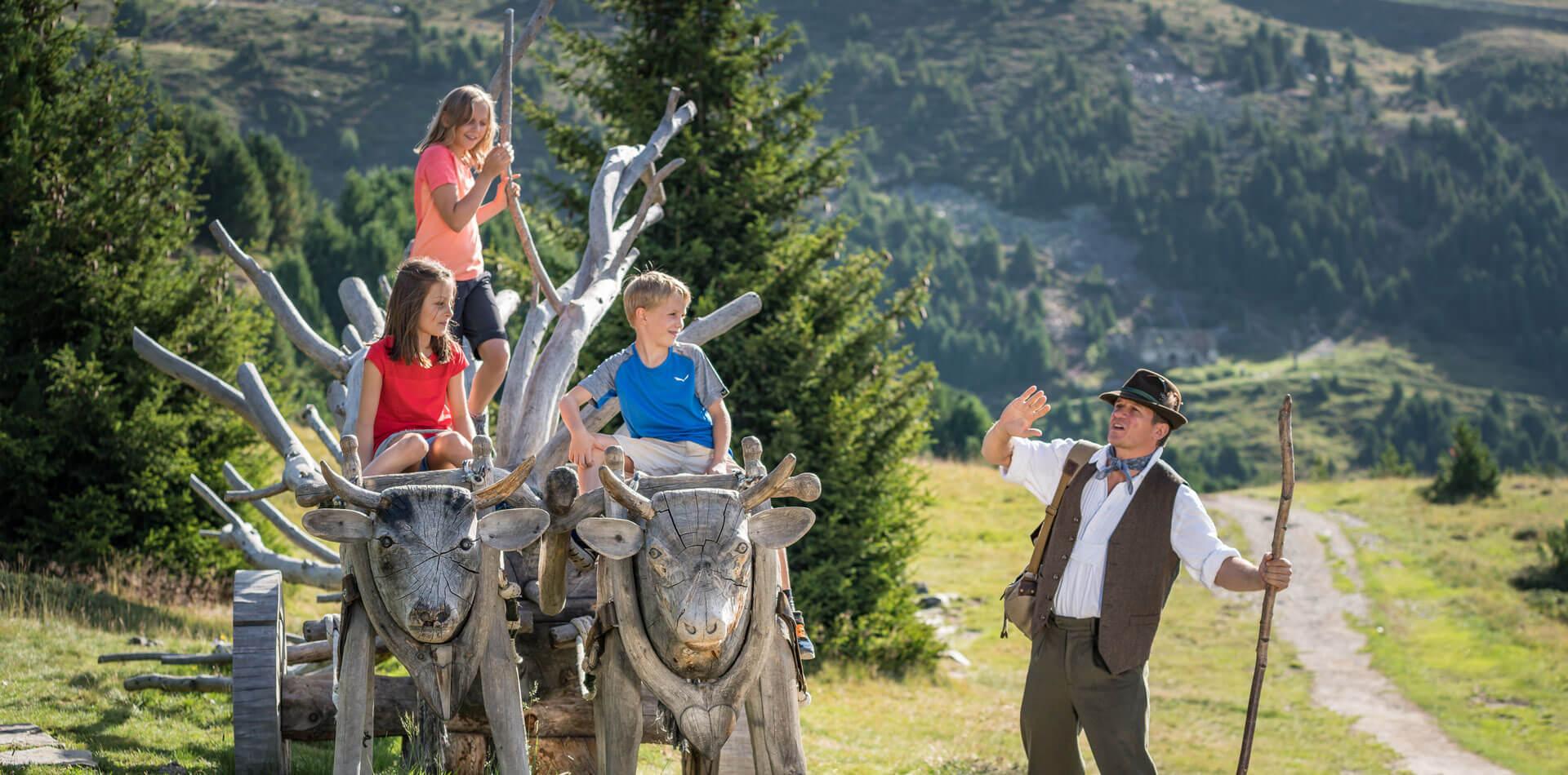 Familienurlaub auf dem Bauernhof - Südtirol