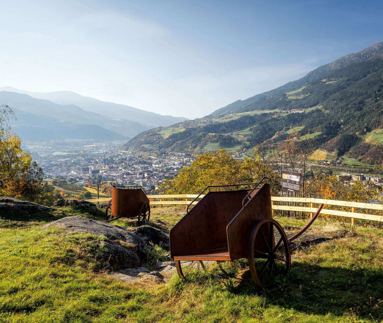 Herbsturlaub Brixen, Südtirol