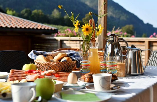 Frühstückskorb am Obermoarhof in Brixen - Südtirol