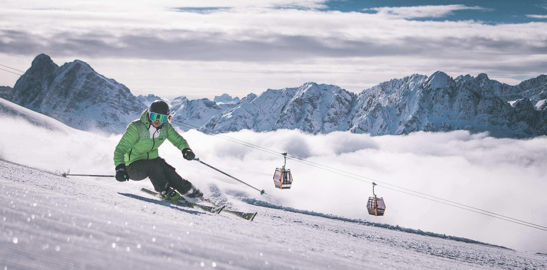 Winterurlaub Brixen - Skigebiet Plose / Südtirol